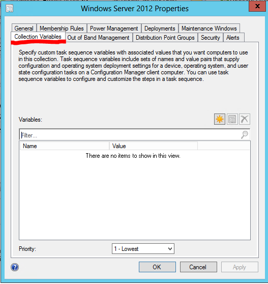 How do variables in Configuration Manager 2012 work? – Part