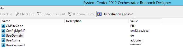 Automating ConfigMgr with Orchestrator Runbooks - PreStage