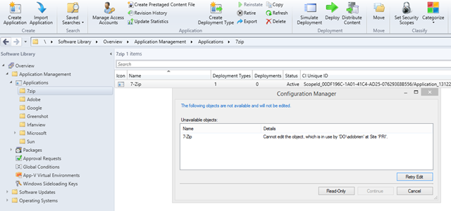 How to unlock objects in ConfigMgr 2012 with Powershell
