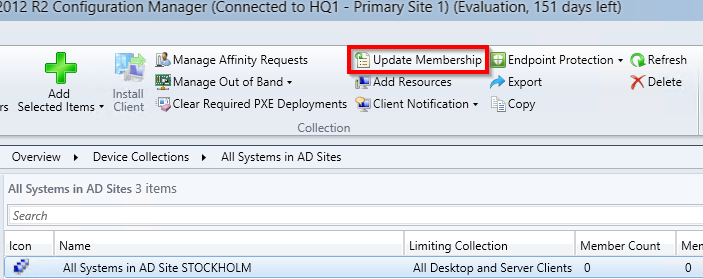 How to - ConfigMgr collection updates - Cloud for the win!