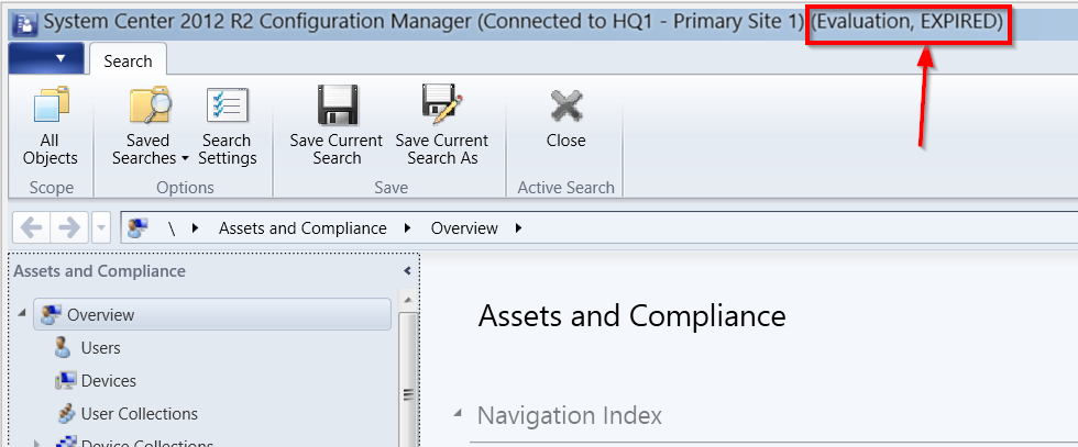 ConfigMgr evaluation expired - what now? - Cloud for the win!