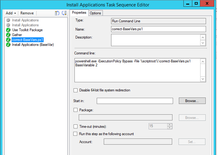 ConfigMgr - Application Base variables the easy way with