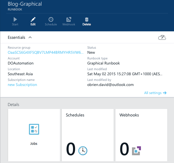Azure Automation Runbooks overview