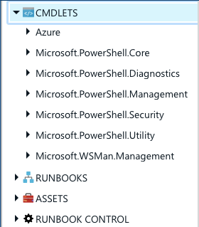 Azure Automation PowerShell modules
