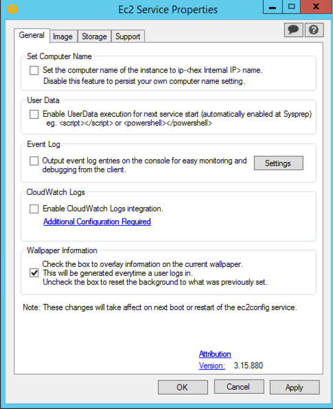 Setup proxy server ec2