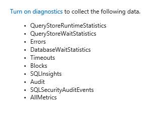 azure-sql-diagnostics